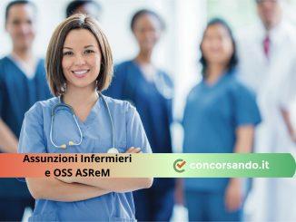 Assunzioni Infermieri e OSS ASReM
