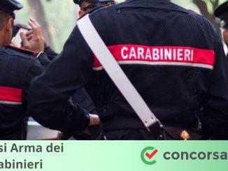 Concorsi Arma dei Carabinieri