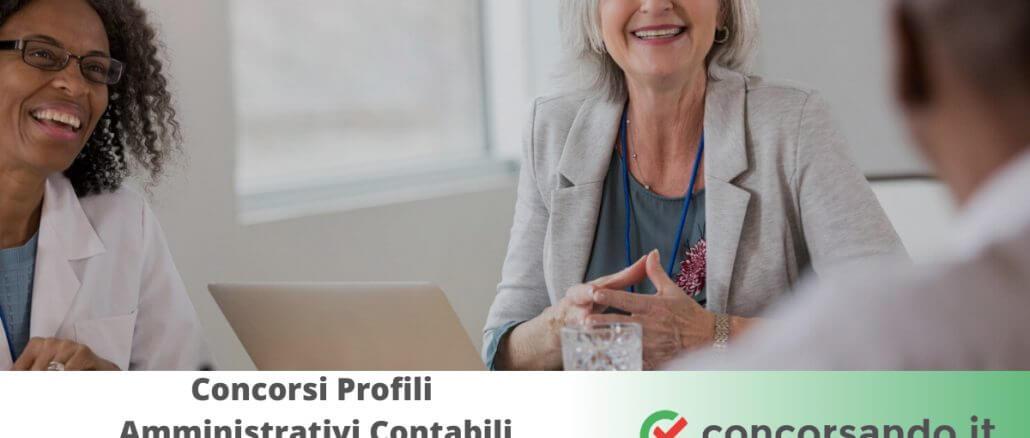 Concorsi Profili Amministrativi Contabili Aziende Sanitarie