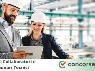 Concorsi Collaboratori e Funzionari Tecnici