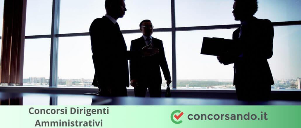 Concorsi Dirigenti Amministrativi