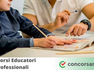 Concorsi Educatori Professionali