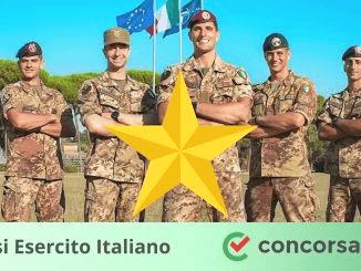 Concorsi Esercito Italiano