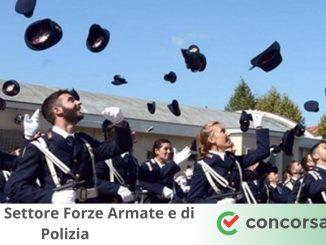 Concorsi Settore Forze Armate e Polizia