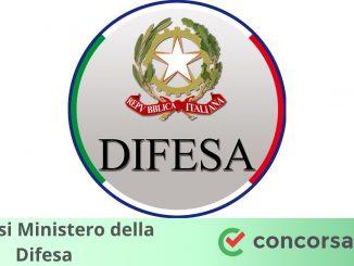 Concorsi Ministero della Difesa