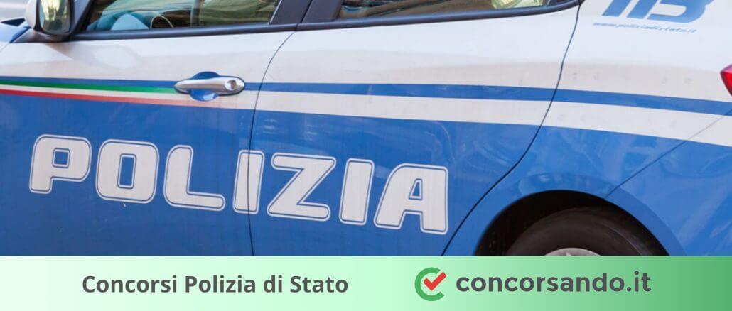 Concorsi Polizia di Stato