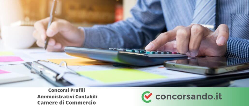 Concorsi Profili Amministrativi Contabili Camere di Commercio