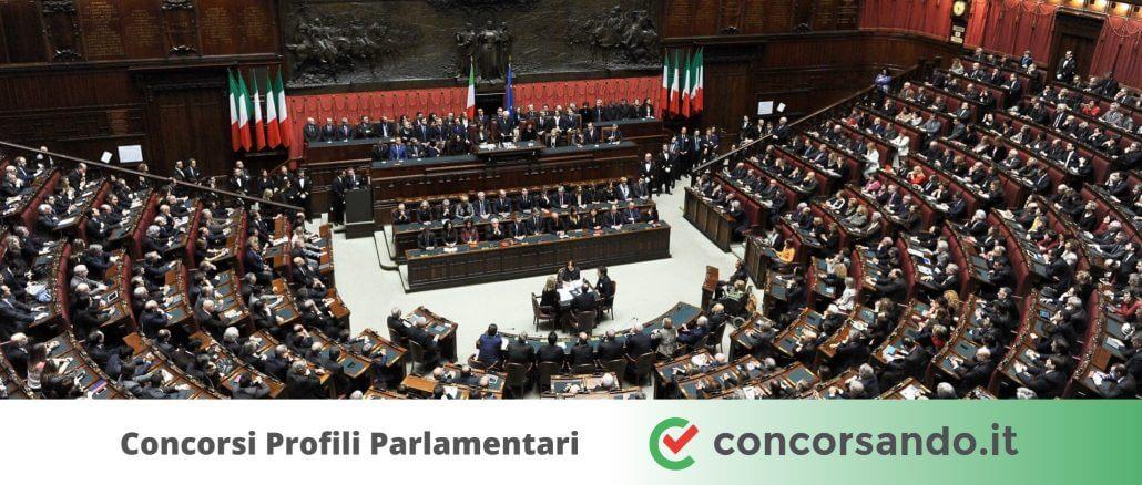 Concorsi Profili Parlamentari