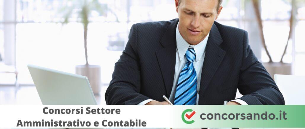 Concorsi Settore Amministrativo e Contabile