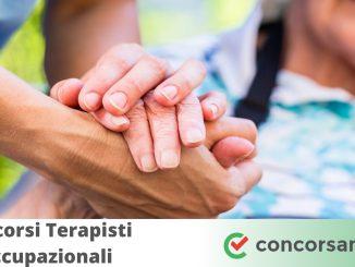Concorsi Terapisti Occupazionali