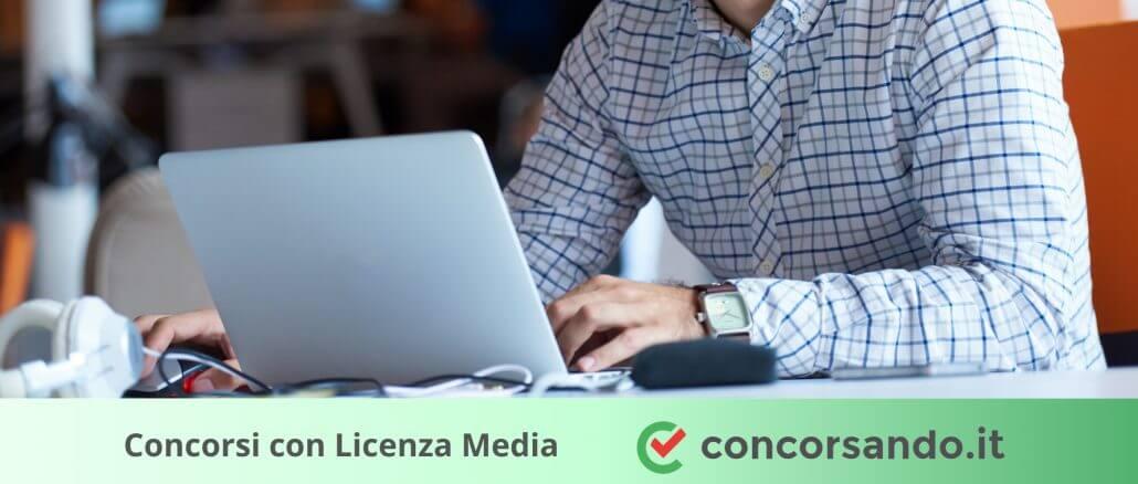 Concorsi con Licenza Media