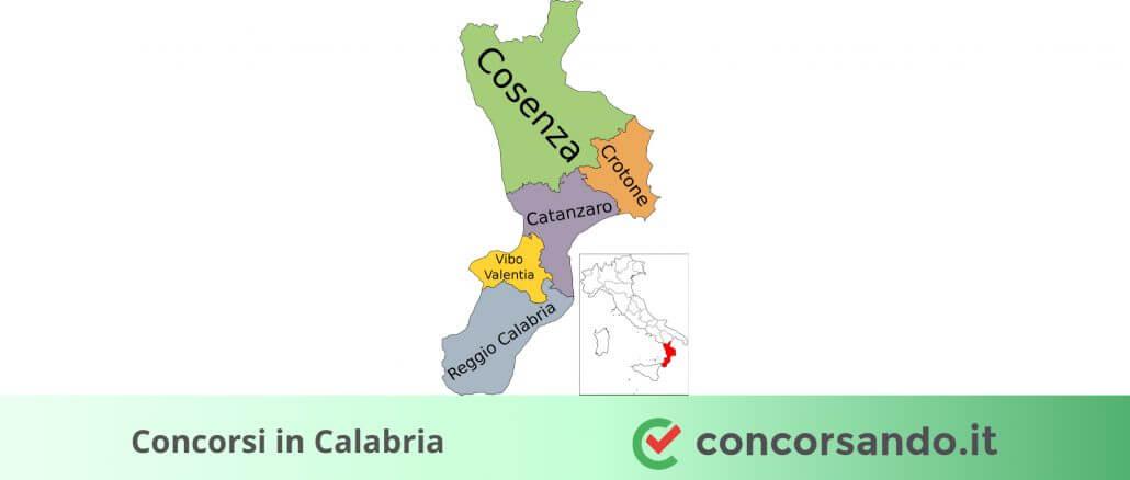 Concorsi in Calabria