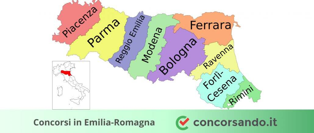 Concorsi in Emilia-Romagna