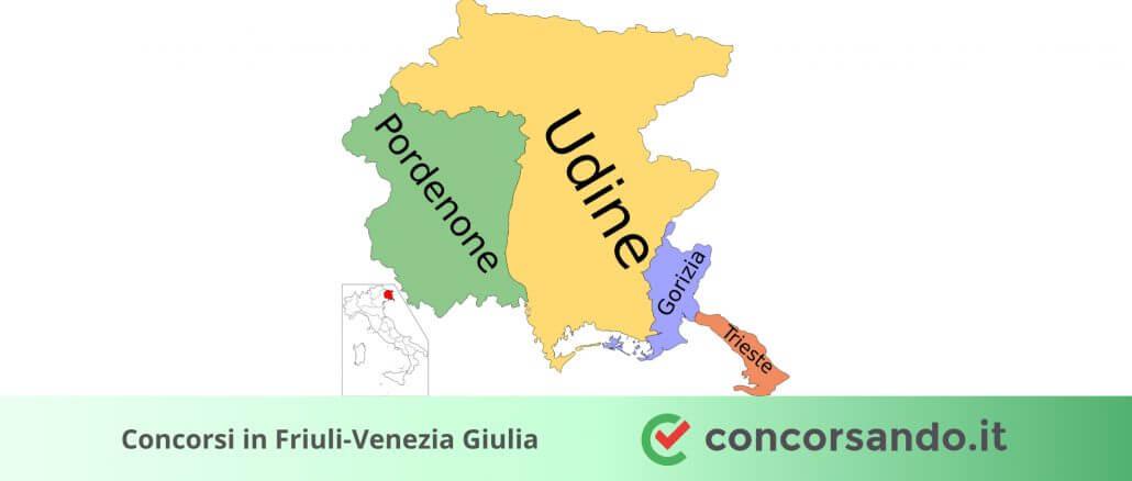 Concorsi in Friuli-Venezia Giulia