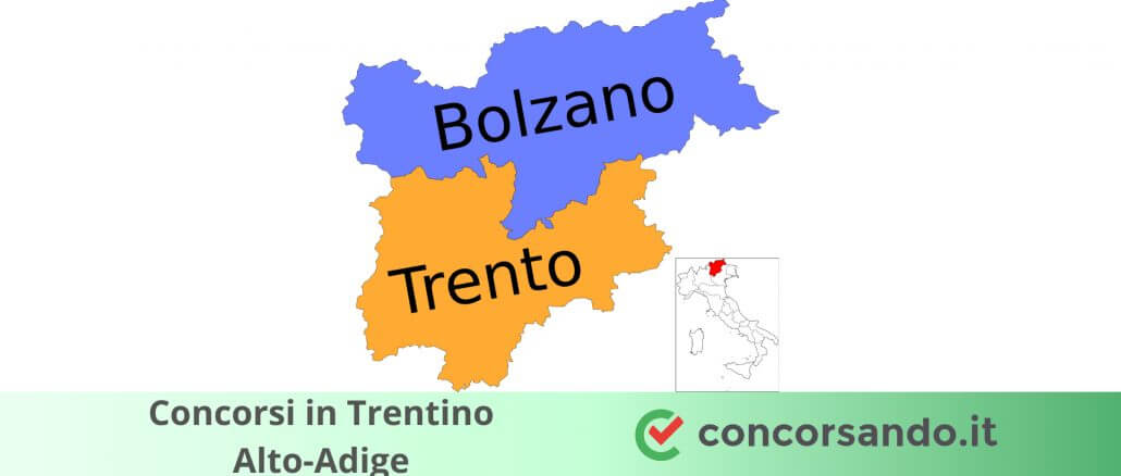 Concorsi in Trentino Alto-Adige (1)