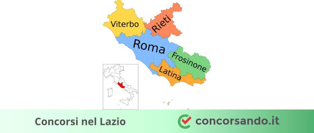 Concorsi nel Lazio