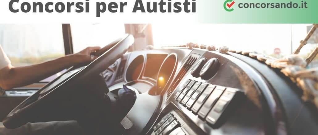 Concorsi per Autisti