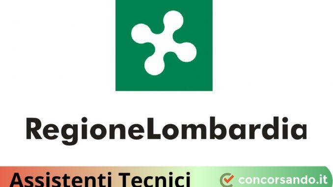 Concorso Assistenti Tecnici Regione Lombardia