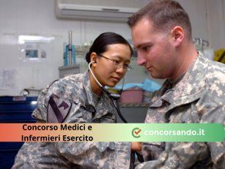 Concorso Medici e Infermieri Esercito