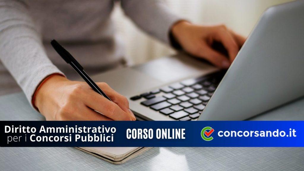 Corso Online di Diritto Amministrativo