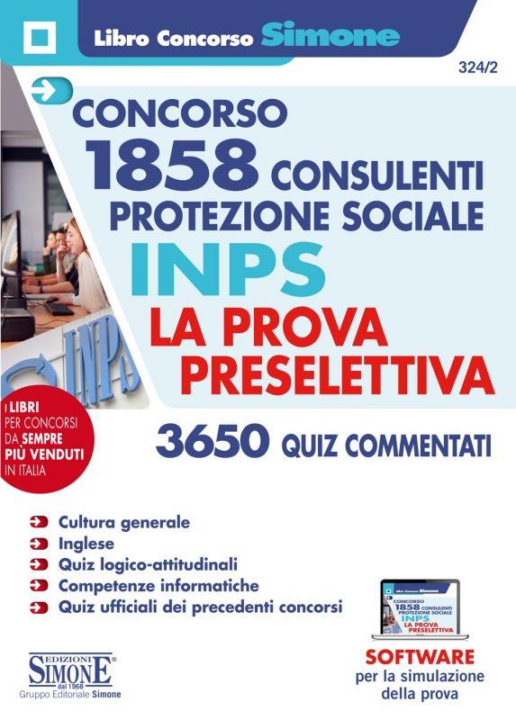 1858 Consulenti per la Protezione sociale INPS – La prova preselettiva – Quiz commentati