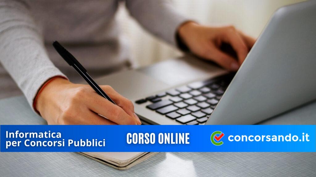 4K Corso Online Informatica per Concorsi Pubblici