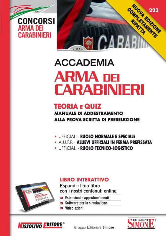 Accademia Arma dei Carabinieri – Teoria e Quiz