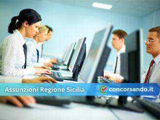 Assunzioni Regione Sicilia