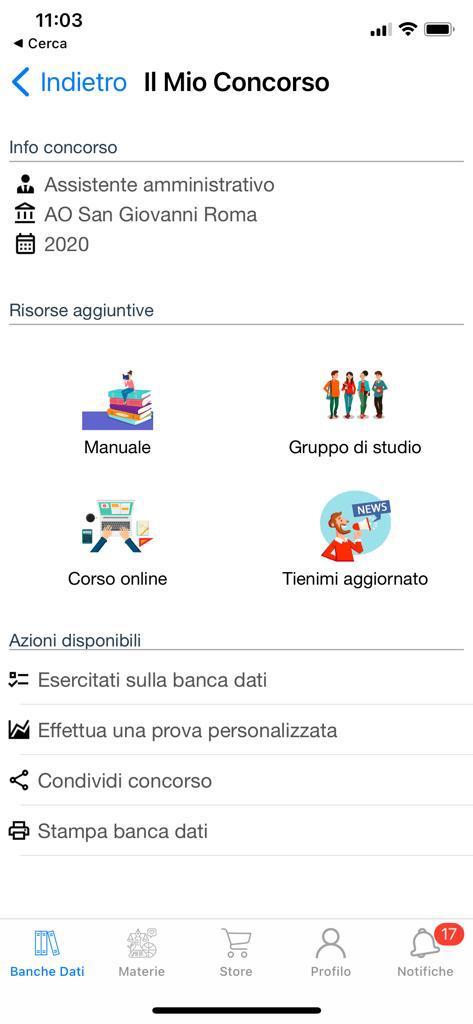 Banca dati Concorso Assistenti Amministrativi AO San Giovanni Roma