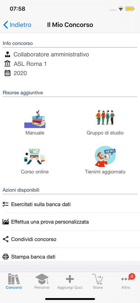 Banca dati Concorso Collaboratori ASL Roma 1
