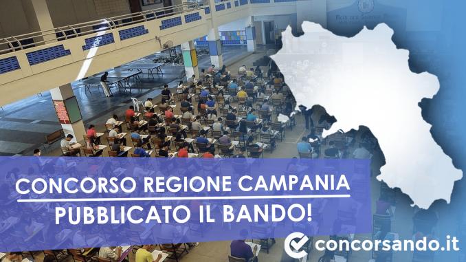 Bando concorso Regione Campania