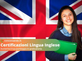 Certificazioni Lingua Inglese Concorsi Pubblici