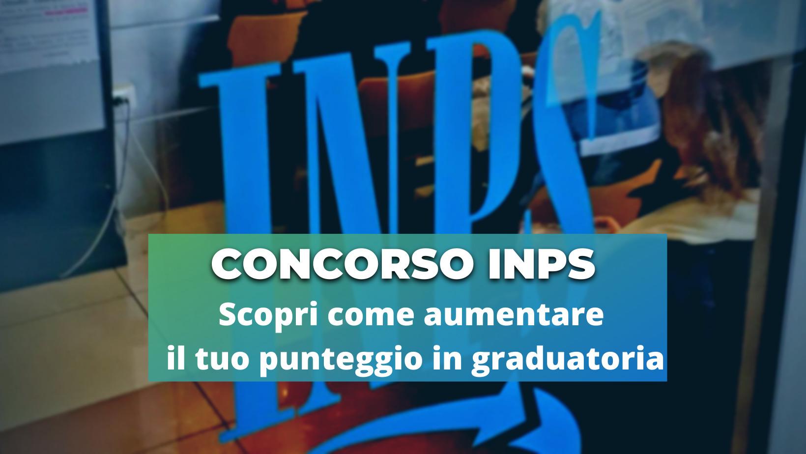 Certificazioni Concorso INPS (Copertina di Facebook)