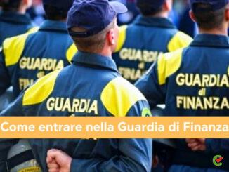 Come entrare nella Guardia di Finanza
