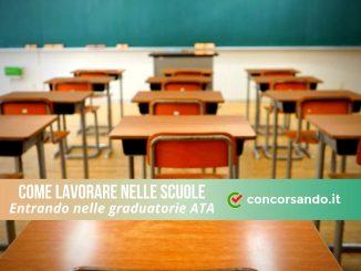 Come lavorare nelle scuole entrando nelle graduatorie del personale ATA