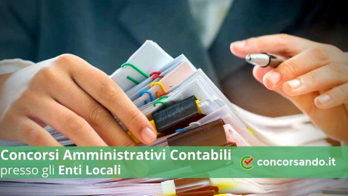 Come studiare per i Concorsi Amministrativi Contabili Enti Locali per diplomati