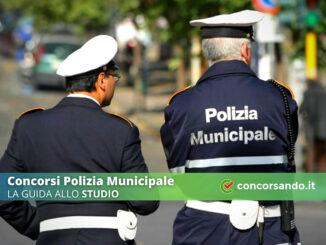 Come studiare per i Concorsi Polizia Municipale