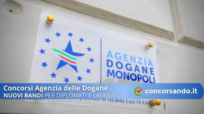 Concorsi Agenzia delle Dogane