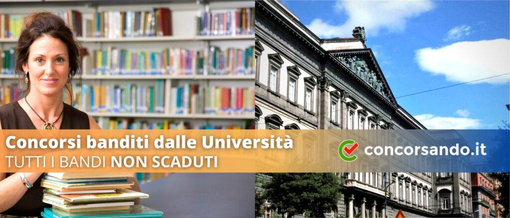 Concorsi Banditi dalle Università