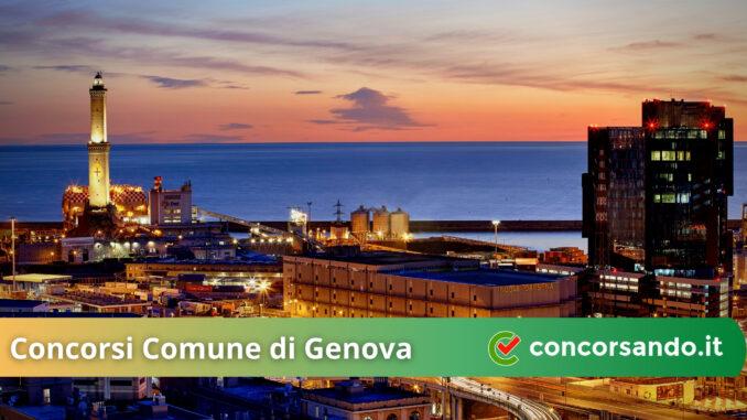 Concorsi Comune di Genova