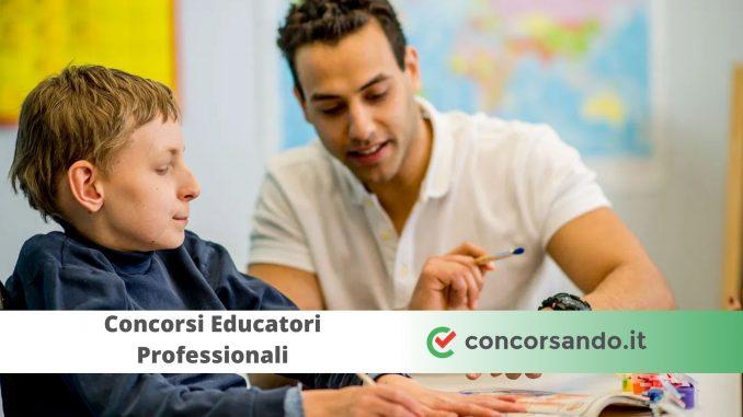 Concorsi Educatori Professionali