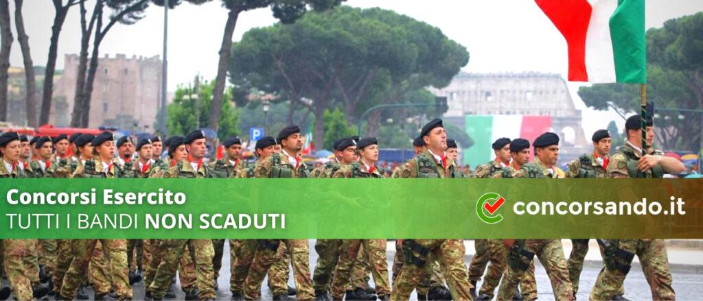 Concorsi Esercito