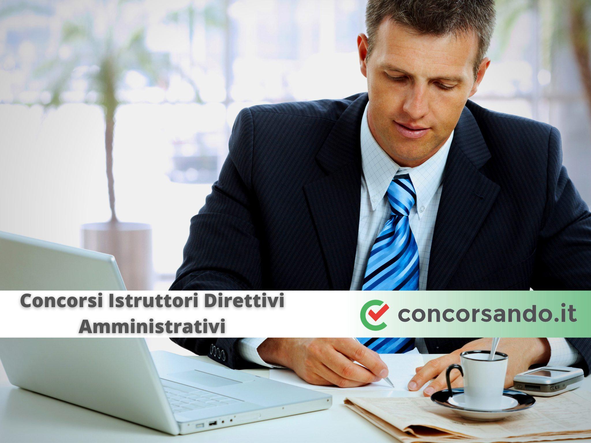 Concorsi Istruttori Direttivi Amministrativi