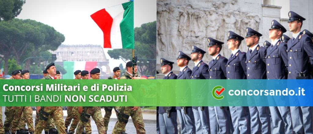 Concorsi Militari e di Polizia