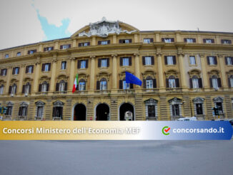 Concorsi Ministero dell'Economia MEF