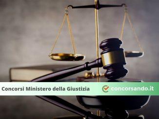Concorsi Ministero della Giustizia