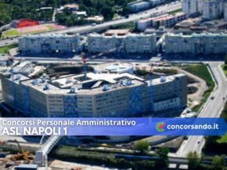 Concorsi Personale Amministrativo ASL Napoli 1