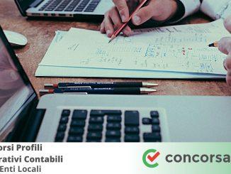 Concorsi Profili Amministrativi Contabili negli Enti Locali