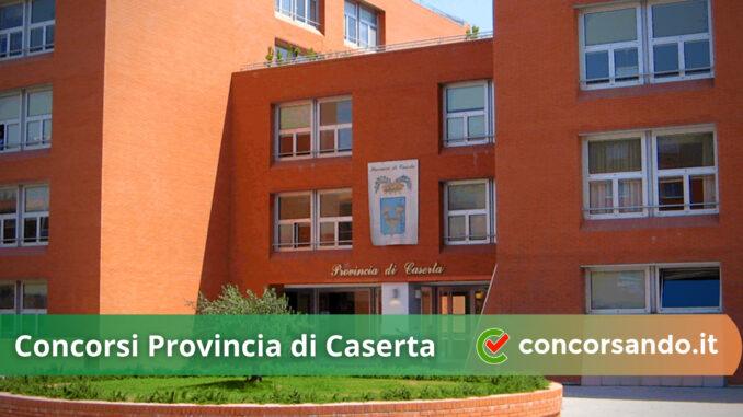Concorsi Provincia di Caserta