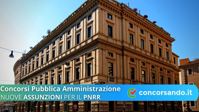 Concorsi Pubblica Amministrazione